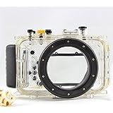 hofoo Tauchen Unterwasser 40m/130ft wasserfestem nach IP8x Grade Kamera Schutzhülle für für Panasonic GF3(14mm)