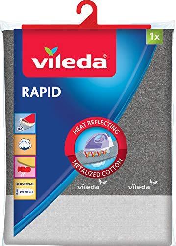 Vileda Viva Express Rapid Bügeltischbezug für schnelleres Bügeln & optimiertes Gleiten