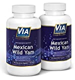 Mexican Wild Yam 2er Sparpack, 750mg/Kapsel, KEIN Extrakt, 120 Kapseln