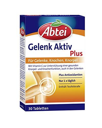 Abtei Gelenk Plus, für Gelenke, Knochen & Knorpel, 30 Tabletten (1 x 30 Stück)