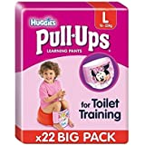 Grand Huggies Pull-Ups couches Fille économie 22 par pack –