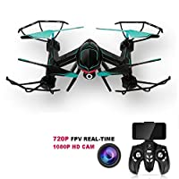 XYL STORE Rc Drone 2.4GHz FPV VR Wifi RC Quadcopter 6-Axis Gyro Remote Control Drone with 2MP HD Camera