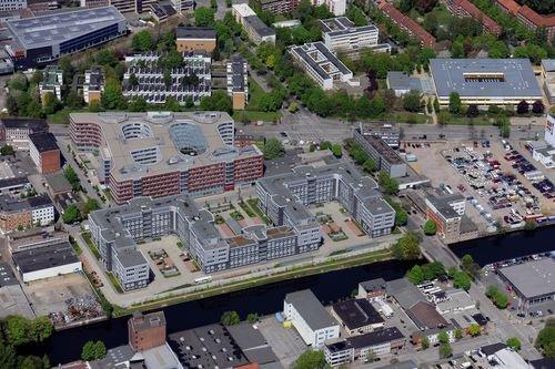 MF Matthias Friedel - Luftbildfotografie Luftbild von Ausschläger Weg in Borgfelde (Hamburg), aufgenommen am 02.05.10 um 12:39 Uhr, Bildnummer: 5502-60, Auflösung: 6048x4032px = 24MP - Fotoabzug 50x75cm