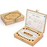 Eternitry Caja de Memoria para niños Caja de Memoria para niños Caja de Recuerdos para niños Cajas de Almacenamiento Cajas de Almacenamiento Inglés Japonés Palabras Organizador para Niños Niñas