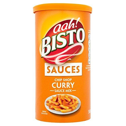 Bisto Chip (Bisto Chip Shop Curry Sauce 300g - sehr beliebte Currysoße für Pommes-Frittes)