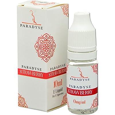 Paradyse Liquid Strawberry | e-Liquid | 0mg Nikotin | Nikotinfrei | e-Zigarette | e-Shisha | 10ml von Paradyse