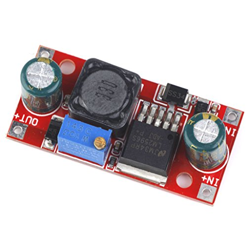 Amazon.es - 1pcs LM2596 DC to DC Buck Converter 3.0-40V to 1.5-35V Power Supply Step Down Module