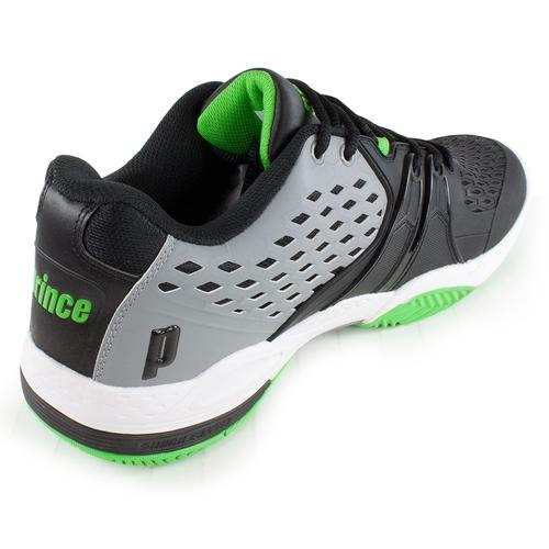 Prince Warrior Herren Tennis Schuhe mehrfarbig - schwarz / grün