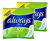 Always Ultra Binden normal ohne Flügel, 2er Pack. (2 x 12er)