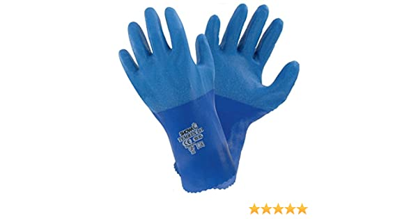 1 x Pair Of Showa Temres 281 Breathable /& Waterproof PU Safety Gloves