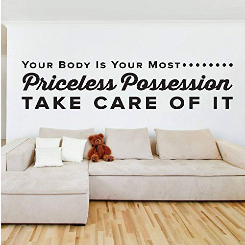 Your Body is Your Most Priceless...