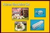 menta-modellbau Ruinen Baustein Set, Krippenbau, Modellbausteine