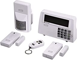Xavax Alarmanlage Funk fürs Haus FeelSafe (laute 120dB Sirene, komplettes Alarmsystem inkl. Basisstation,...