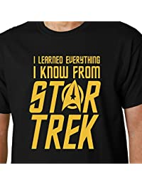 I Learned Everything I Know From Star Trek t-shirt