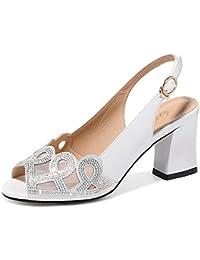 43583295d0b Tacones Altos De La Moda De Las Mujeres Sandalias De Malla De Diamantes De  Imitación Botón