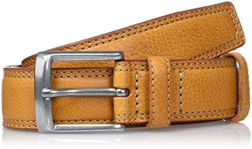 Lee STITCHED RAISED BELT COGNAC, Cintura Uomo, Marrone (COGNAC), 100 cm