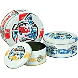 VW Campervan Retro 3pc Cake Tins Volkswagen