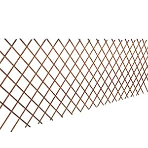 vidaxl 5x rankgitter weide spalier rankhilfe gitter scherenspalier 90 x 180 cm baumarkt. Black Bedroom Furniture Sets. Home Design Ideas