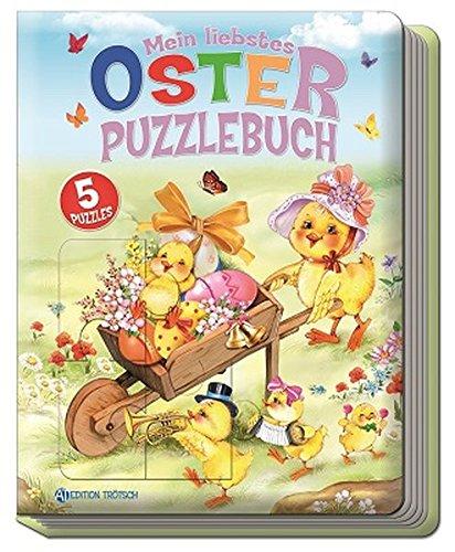 Mein liebstes Oster-Puzzlebuch: Mit 5 Puzzles (Ostern / Kinderbücher, Band 2)