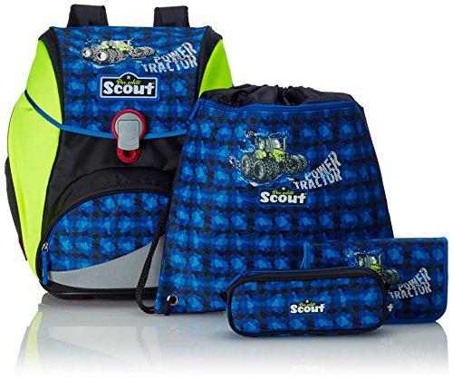 Scout 744107 Alpha Set Kinder-Rucksack, Blau/Grün - 4