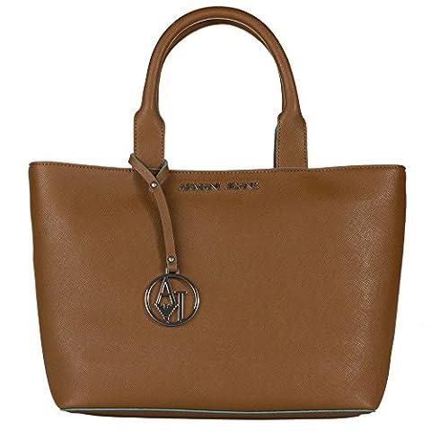 Armani Jeans Tote Damen Handtasche (Marrone Ecopelle Borsa Borsa)