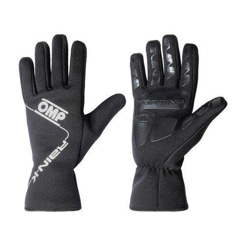 OMP OMPKK02739071M Regen Handschuhe K Schwarz Größe M, Talla M
