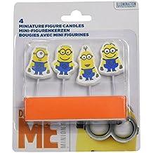 Amscan Internacional Minions mini figuras Velas