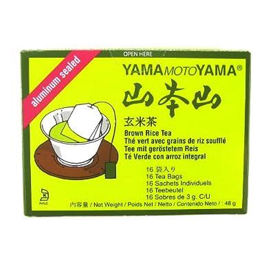 En 2 - Genmaicha Thé Vert Japonais (16 sacs) par Yamamotoyama