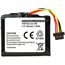 subtel® Batería para TomTom GO Live 1000 / 1005 - 950mAh Bateria de repuesto TomTom AHL03711018, VF1C