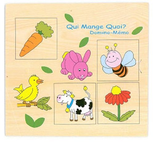 Sapin Malin - SM59048 - 2 - Jouet Premier Age - Jouet en Bois - Qui Mange Quoi ?