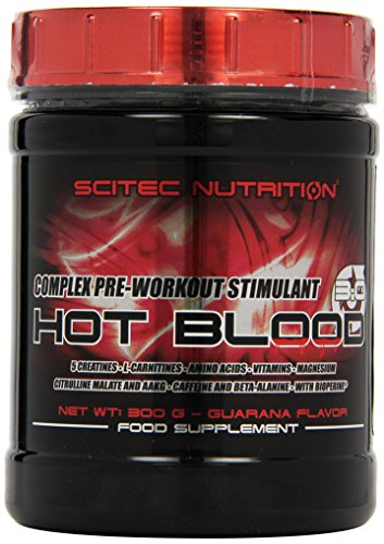 Scitec Nutrition Fat Burner Hot Blood, Guarana, 300g