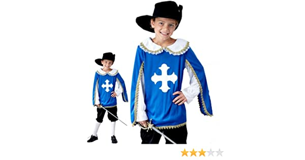 Large Brand New Royal Musketeer Child Costume