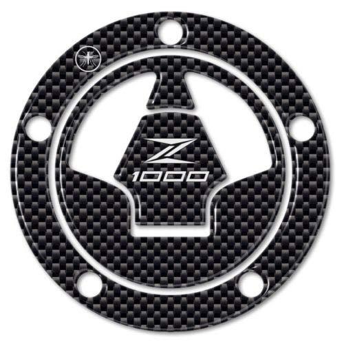 Adhésif 3D Carbone Protection Bouchon Du Réservoir Compatible Moto Kawasaki Z1000