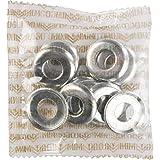 Mini Logo 10/Pack Kingpin Top Washer Silver