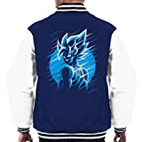 Dragon Ball Z Goku Blue Moon Men's Varsity Jacket