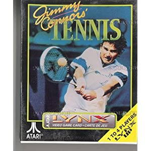 Jimmy Connors' Tennis – Lynx