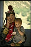 481067 Kalash Mother And Child Pakistan A4 Photo Poster