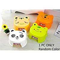 Step Stool for Kids/Anti-Slip Stool for Children - Perfect Using in Bedroom, Kitchen, Bathroom and Living Room - Ideal Gift for Kids - Different Cute Pictures.Random units.