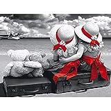 Arte y manualidades Pintura plmko Hermoso Paisaje Belleza 5D Diamante Pintura Bricolaje Artesanía Pintura Diamante Punto de Cruz Decoración del Hogar Sin Marco 40x50 Cm