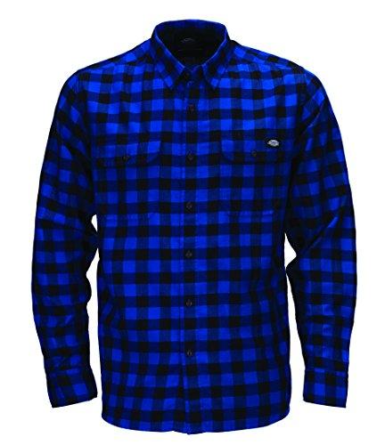 dickies-herren-regular-fit-freizeit-hemd-jacksonville-gr-small-blau-royal-blue-rb
