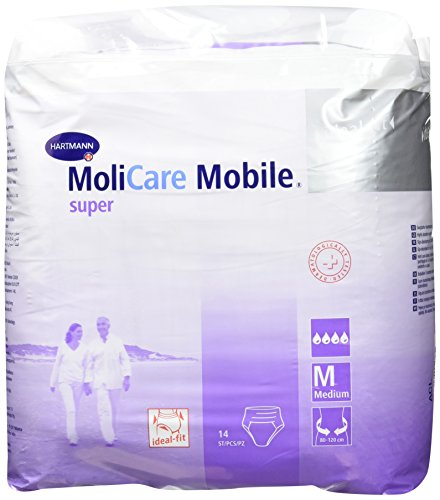 MOLICARE Mobile Super Inkontinenz Slip Gr.2 medium 14 St