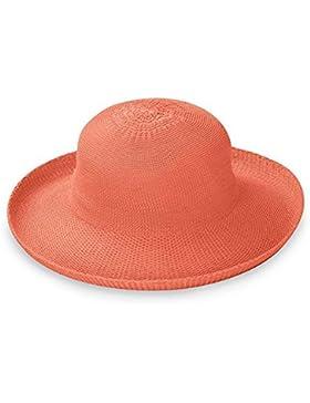 Mujer Wallaroo Victoria Sombrero De Sol (ajustable & Plegable) - Coral, Adjustable up to 58 cm
