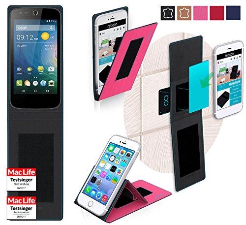 reboon Hülle für Acer Liquid Z320 Tasche Cover Case Bumper | Pink | Testsieger