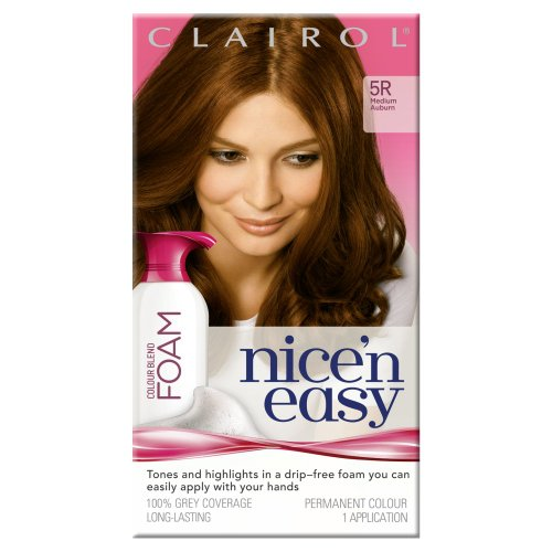 clairol-nicen-easy-colour-blend-foam-permanent-hair-dye-medium-auburn-5r