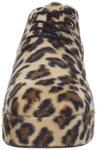 PleaserJazz02/b - Brogue uomo Cheetah Fur