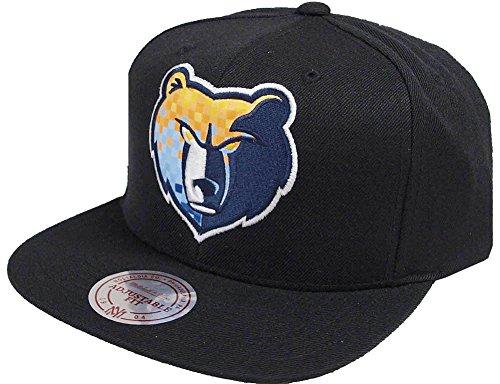 Preisvergleich Produktbild Mitchell & Ness NBA Memphis Grizzlies 348VZ Easy Three Digital XL Snapback Cap Black Kappe Basecap