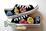 Zapatillas customizadas personalizados lona Barrio Sesamo, regalos para cumpleaños - regalos para mujer -regalos para hombre - regalos aniversario - regalos San Valentin