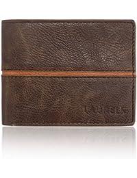 Laurels Raider Brown Leather Men's Wallet (Lw-Rdr-0906)