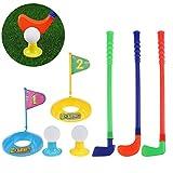 Best Juguetes y Niños clubs de golf - Plástico golfista juguete niño juego de golf juguete Review