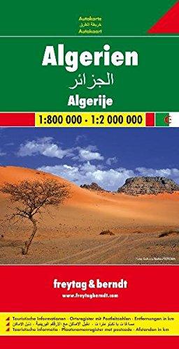 Algérie : 1/800 000 - 1/2 000 000
